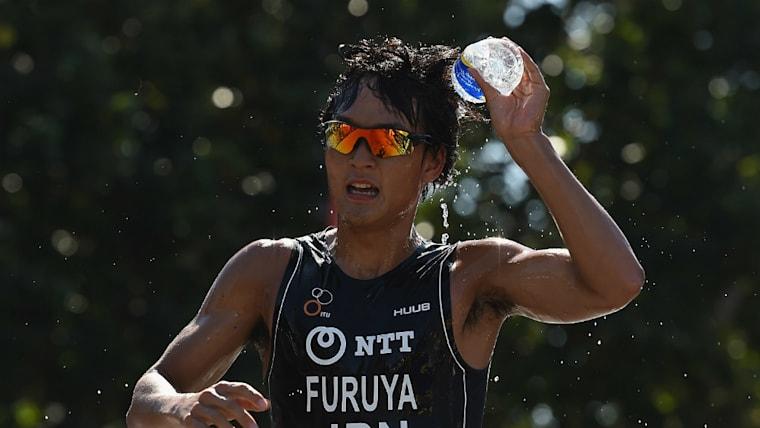 古谷純平は日本男子の注目選手の一人。2016年から2年連続でトライアスロン・ジャパンランキングの1位に君臨した