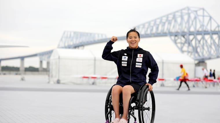 東京2020パラリンピックでメダル獲得が期待される瀬立モニカ選手