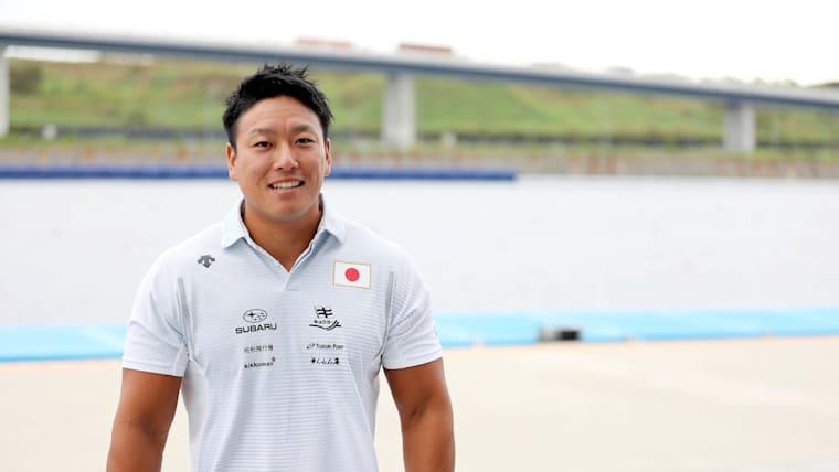 東京2020オリンピックで恩返しを誓う松下選手