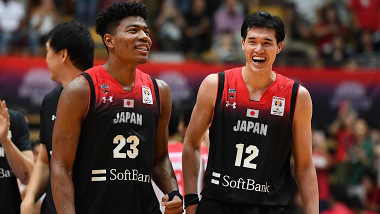 八村塁と渡邊雄太はW杯予選で日本代表としてプレーしている
