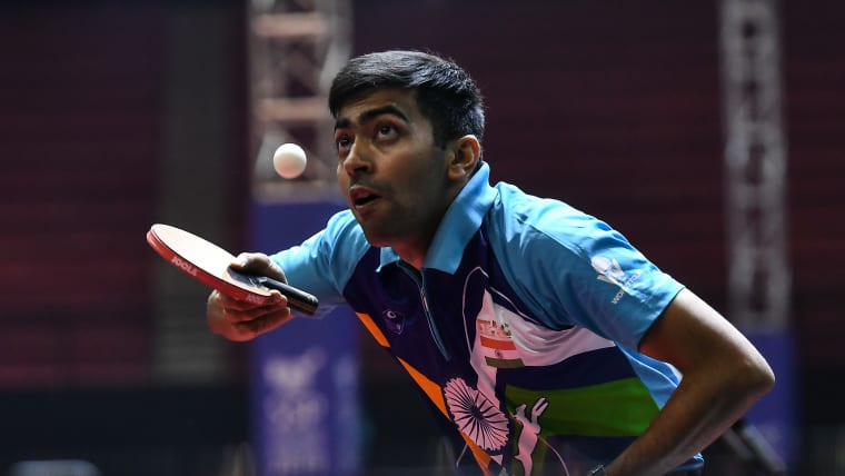 Harmeet Desai is one win away from making it to the main draw of the German Open