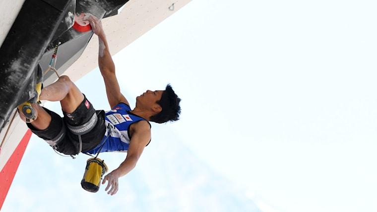決勝で西田秀聖、清水裕登に敗れたものの、3位で表彰台に登った田中修太