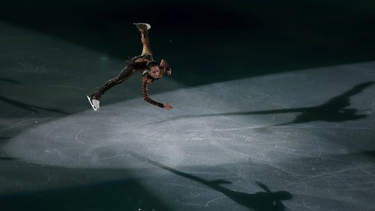 Alina Zagitova Russia performs during the Gala Exhibition at the PyeongChang 2018 Winter Olympics
