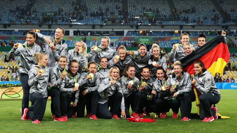 ドイツ女子代表がオリンピック初制覇。決勝トーナメントでは中国、カナダ、スウェーデンを下した