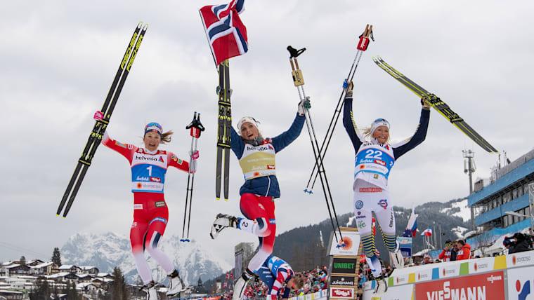 ノルウェー勢が大会5連覇、王者テレーセ・ヨーハウグは3度目の金