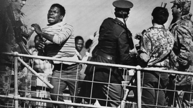 Anti-Apartheid protest in Soweto