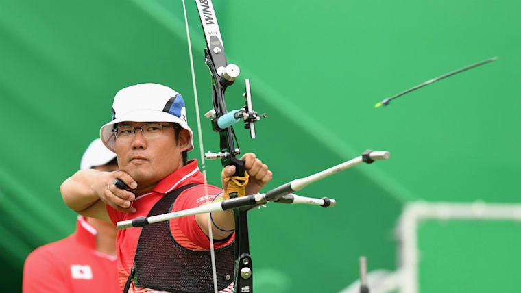 古川高晴はアテネから3大会連続で五輪に出場。2018年のアジア競技大会では杉本智美とコンビを組み、リカーブミックスで金メダルを獲得した
