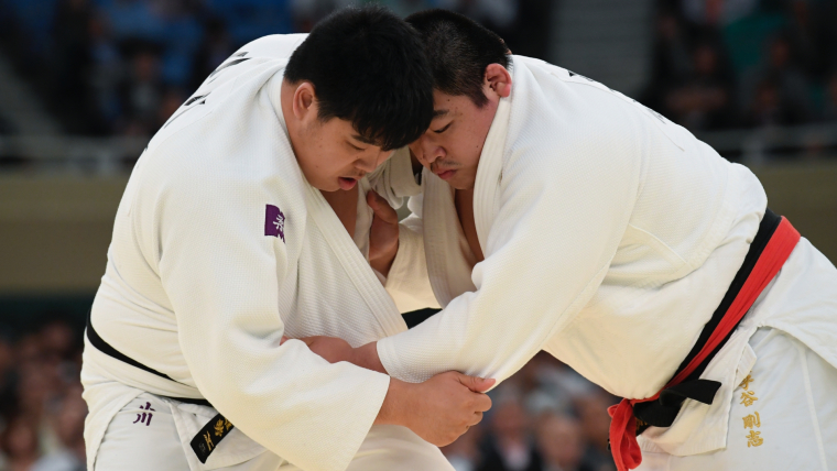 全日本選抜体重別選手権大会時の写真