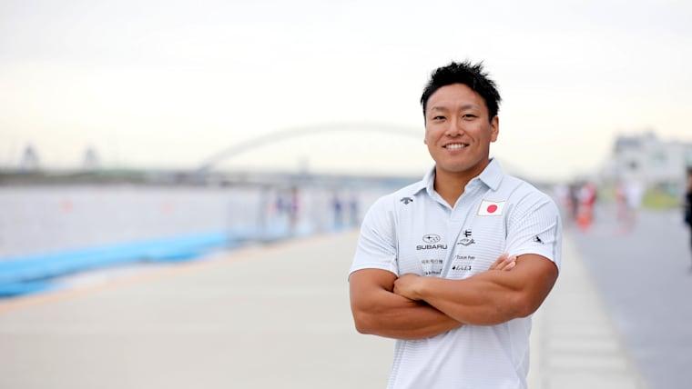 カヤックフォアで東京2020オリンピック出場を内定させた松下桃太郎選手