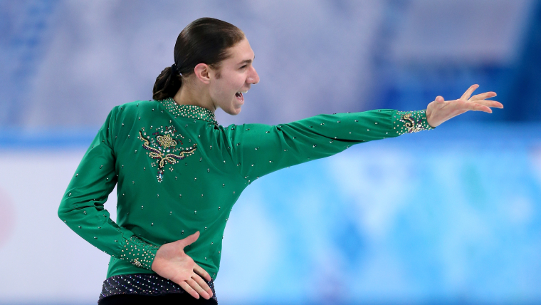 USA's Jason Brown competes in the free skate at Sochi 2014