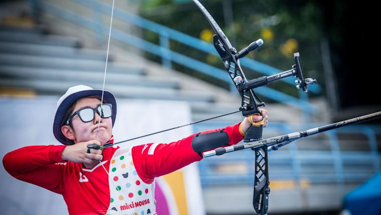 杉本智美は2018年のアジア競技大会で活躍。リカーブのミックスで金メダル、リカーブの団体で銅メダルを獲得した