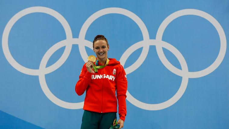 4度目のオリンピックとなったリオデジャネイロ五輪で4つのメダルを獲得。最初の指導者であった祖父とともに喜びを分かち合った