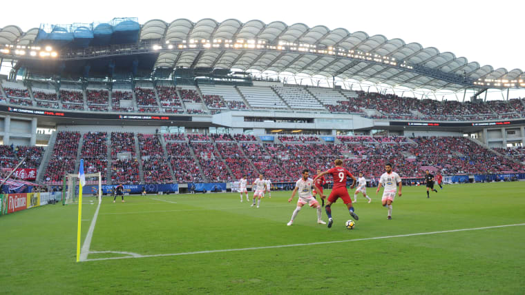 Kashima Soccer Stadium, home of AFC Champions League holders Kashima Antlers, will stage football at Tokyo 2020