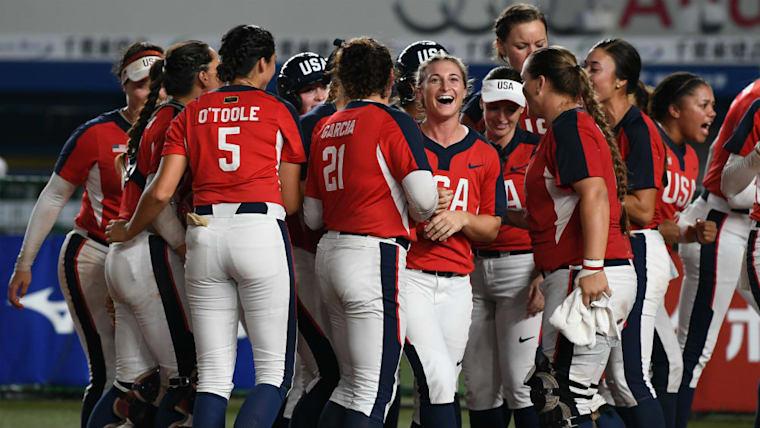 アメリカはすでに東京五輪の出場権を獲得。6月に行われた「日米対抗ソフトボール2019」では日本が2勝1敗で勝ち越した