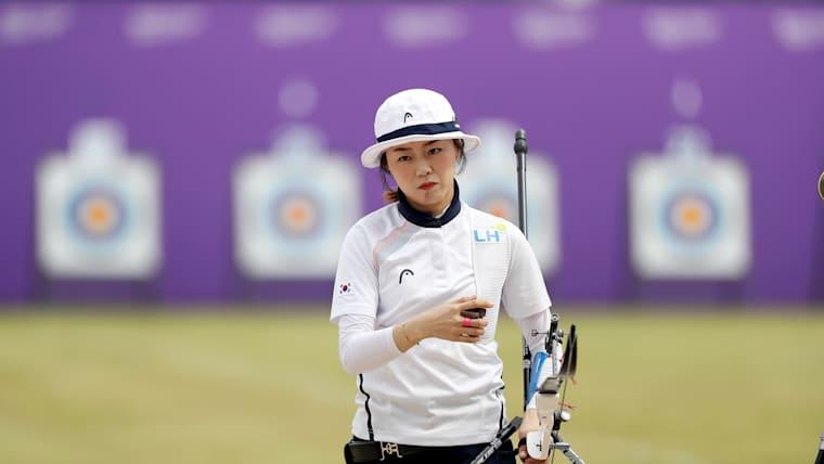Olympian Chang Hye Jin