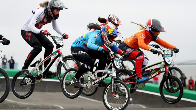 Pajón is known as the Queen of BMX