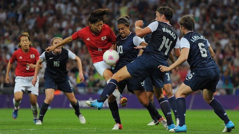 ロンドン五輪は決勝でアメリカに敗れ、金メダルを逃した