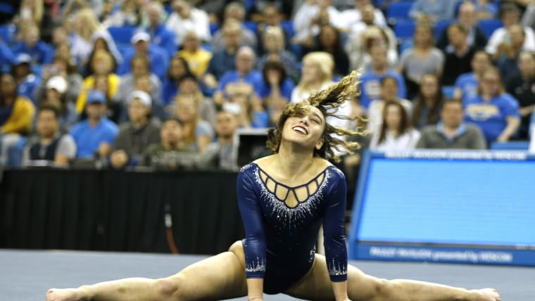 Ohashi during her final year at UCLA