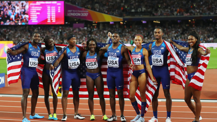Men and women competed for equal prize money at last year's World Athletics Championships