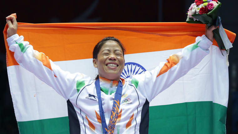 Mary Kom is India's only female boxer to win an Olympic medal