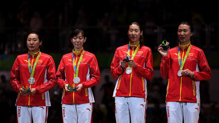 中国女子は2012年のロンドン五輪の団体ロペで金メダル、リオデジャネイロ五輪で銀メダルを獲得している