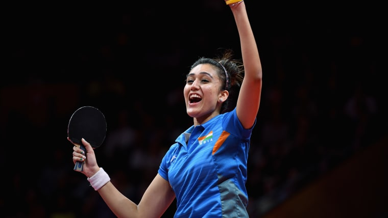 Manika Batra is a 2018 Commonwealth Games gold medallist