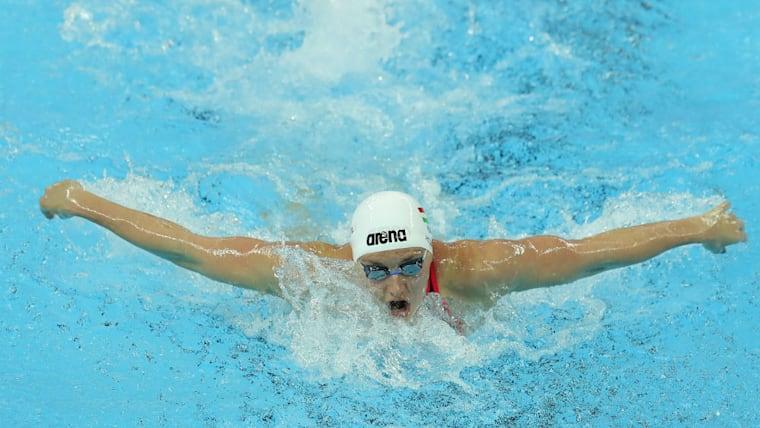 個人メドレーが得意なようにどの種目でも強さを見せる。世界選手権ではバタフライや背泳ぎでも金メダルを獲得してきた