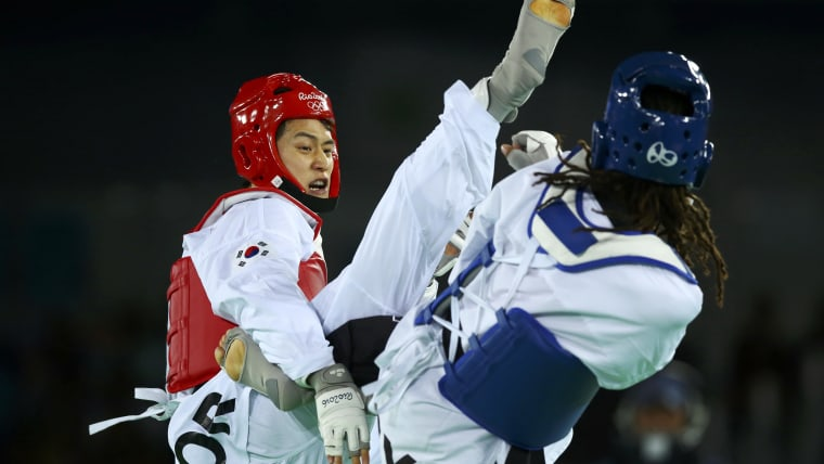 Dae-hoon Lee in action at Rio 2016.