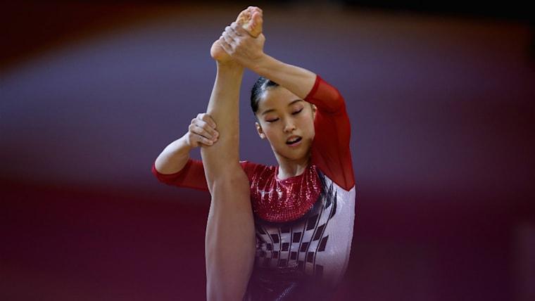畠田瞳は2020東京五輪特別強化選手であり、2018年度体操競技ナショナル選手でもある。バルセロナ五輪団体総合で銅メダルを獲得した畠田好章を父に持つサラブレッドだ
