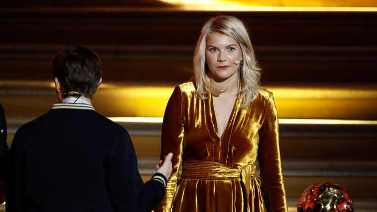 Ballon d'Or winner Ada Hegerberg will not play for Norway at the 2019 FIFA Women's World Cup