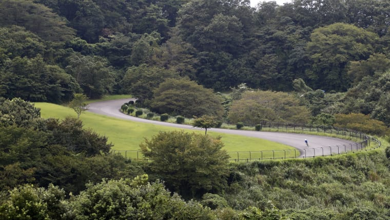 The Izu Mountain Bike Course in Shizuoka prefecture