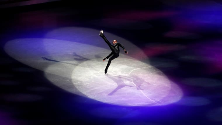 Russia's Alina Zagitova performs during the gala exhibition. (REUTERS-Issei Kato)