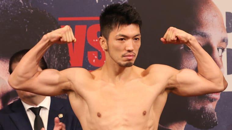 背水の陣で2回TKOでWBA世界ミドル級王座を取り戻しただけでなく、ボクサー村田諒太としても完全復活を遂げた(写真は計量時)