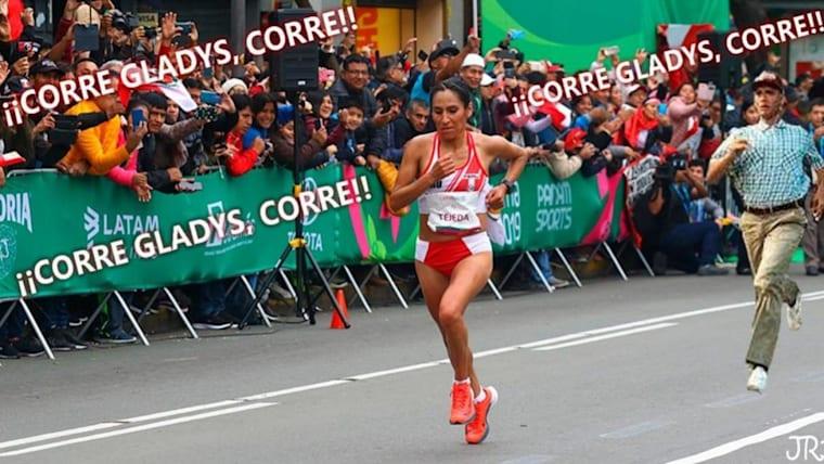 Run Gladys run!
