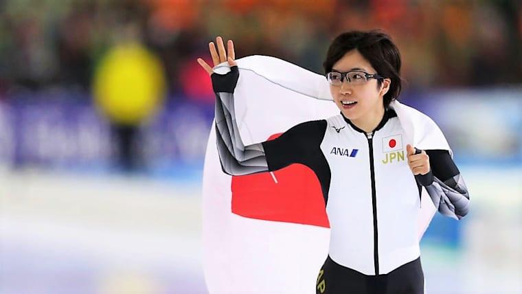 米・スピードスケートW杯、日本勢は軒並み上位に。小平奈緒は女子500Mで優勝した(写真は蘭・ヘーレンフェーンでの世界選手権)。