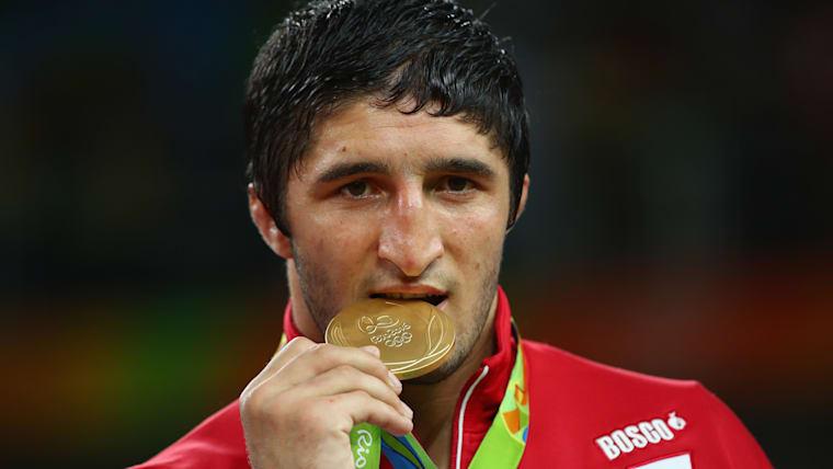 Sadulaev Abdulrashid won gold in the 86kg category at Rio 2016