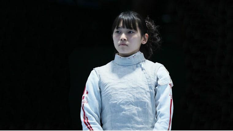 2018年12月の全日本選手権で優勝。史上初となる高校生優勝に輝いた2017年大会に続く2連覇だった/時事