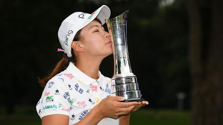 渋野日向子は、初出場の全英女子オープンで日本勢42年ぶりのメジャー制覇を成し遂げた