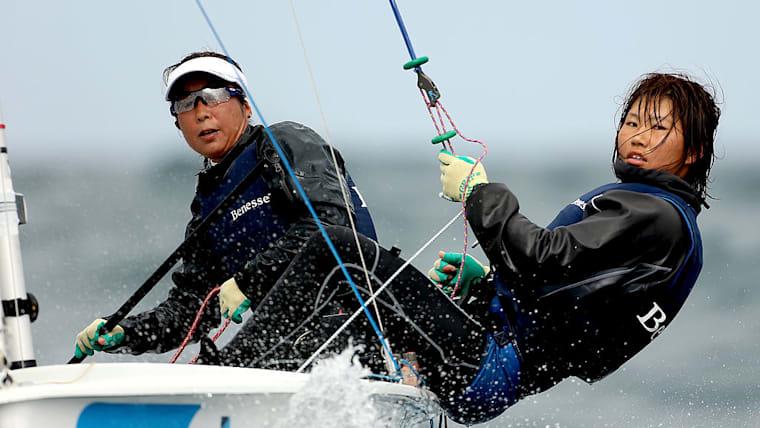 五輪参加に最も近いのは吉田愛・吉岡美帆ペア