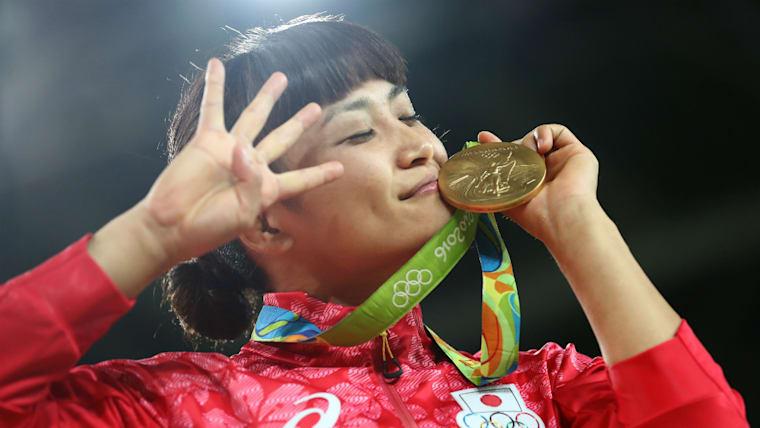伊調馨はリオデジャネイロ五輪で女子個人として史上初のオリンピック4連覇を達成している