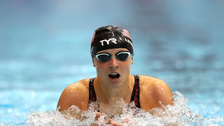 Katie Ledecky will compete in the 400m Freestyle on Day 1 of the swimming in Gwangju