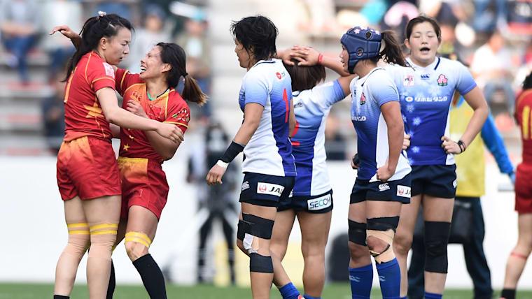 日本は11位決定戦で中国に敗れた。