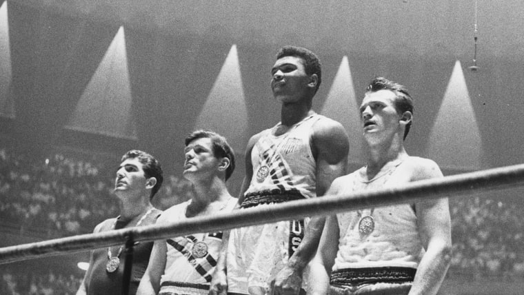 Muhammad Ali won an Olympic gold medal as an 18-year-old