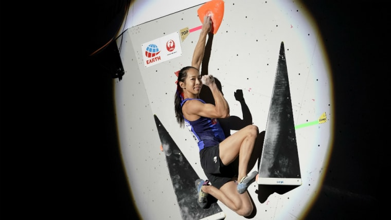 野口啓代は東京オリンピック出場が内定。小学5年生の時から競技に向き合ってきた日本スポーツクライミングの第一人者だ