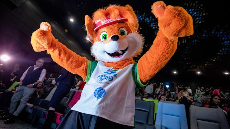 Lesik, the Minsk 2019 official mascot