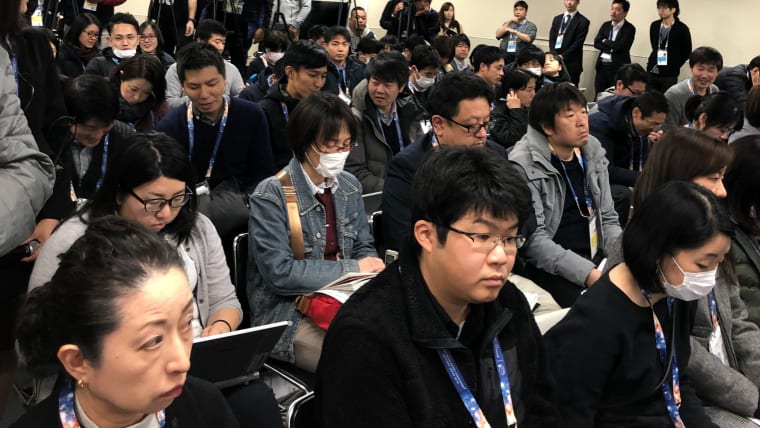 Media gathered in Saitama to hear from the Japanese men
