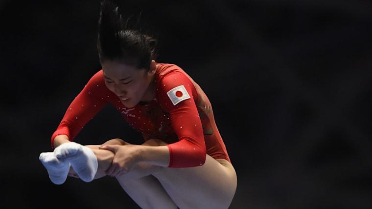 女子個人4位に入り、世界選手権代表に内定した森ひかる(写真は昨年の前橋大会)