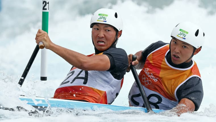佐々木将汰(右)は実弟の翼(左)とともにリオ五輪に出場。兄弟そろっての東京五輪出場を狙う