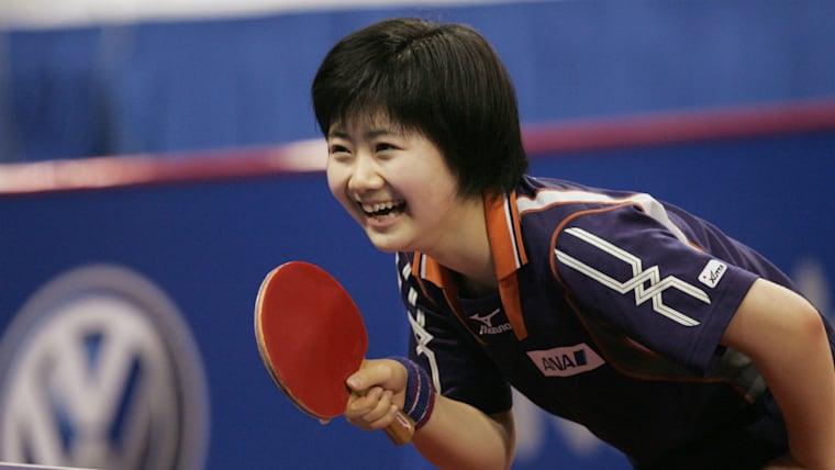 夢が「オリンピックでメダルを獲ること」に変わった2005年時の写真。自らの意思を表明したからか、試合を楽しんでいるように見える