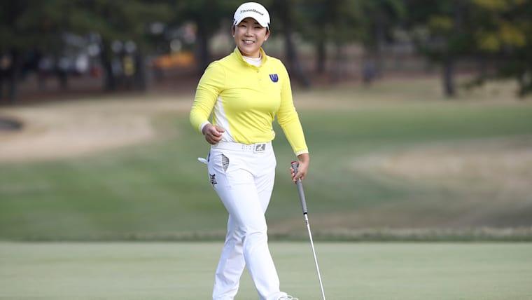 申ジエは韓国選手ながら日本ツアー23勝を挙げ、日本の多くのコースに精通している